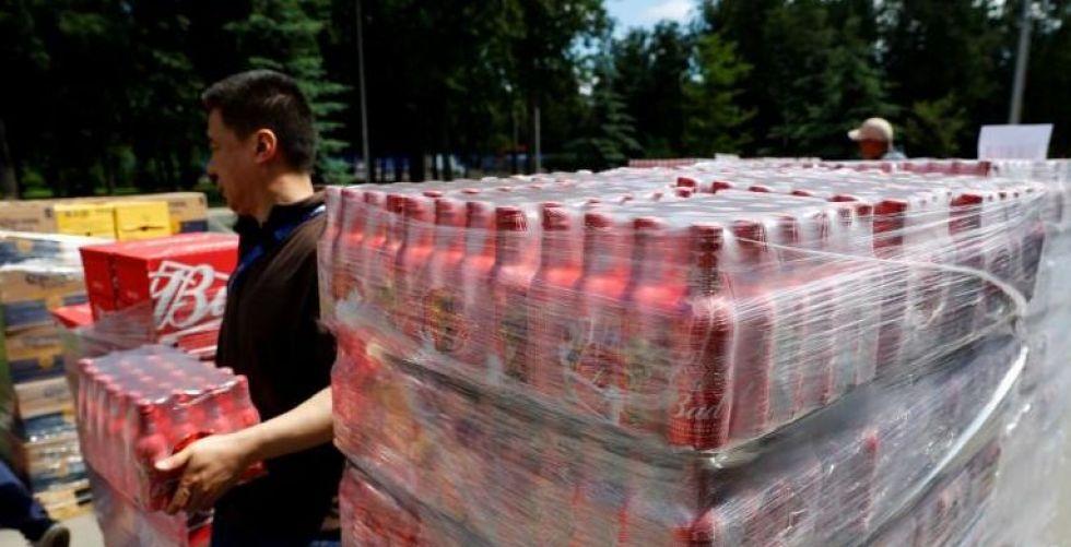 مخزون الجعة ينفذ في موسكو بسبب المشجعين