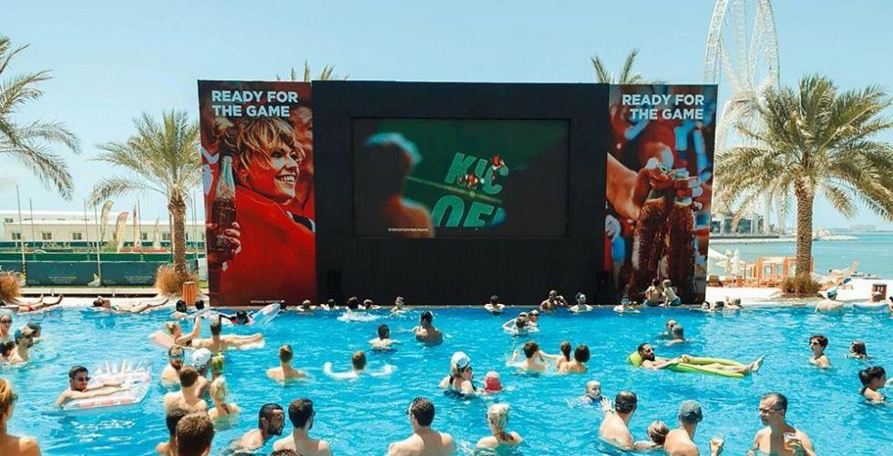 أروع الأجواء في دبي لمشاهدة منافسات بطولة