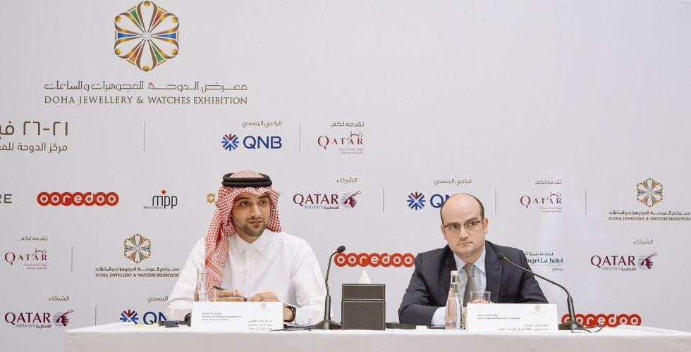 معرض الدوحة للمجوهرات والساعات يكشف النقاب عن نسخة عام 2018