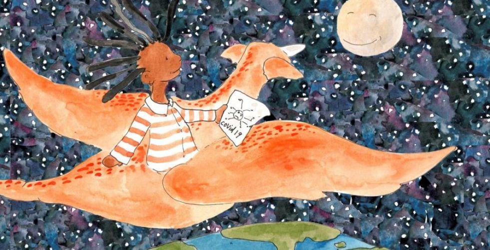 إصدار كتاب قصصي للأطفال لمساعدة اليافعين على التأقلم مع جائحة كوفيد-19