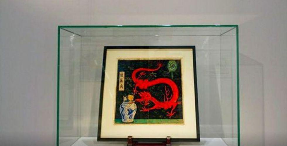 أكثر من مليوني يورو سعر لوحة لتان تان