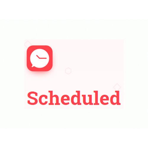 تطبيق Scheduled  لبرمجة رسائلك