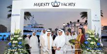 جلف كرافت Gulf Craft  في  دبي البحرية لليخوت الفخمة