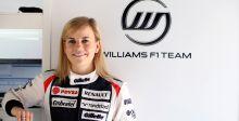 سوزي وولف سائقة فريق وليامز الاختبارية الرّسمية