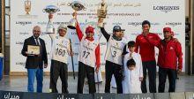 ولي عهد دبي يفوز بكأس القدرة للعام 2015