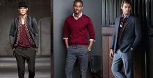 دليل الموضة للرجال:طرق ارتداء اللون العنابي أو البورجوندي