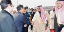 السعودية  إلى الصين في البنية التحتية