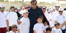 سمو الأمير في فعاليات اليوم الرياضي