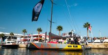 سباق فولفو مع ساعة Ocean Racer