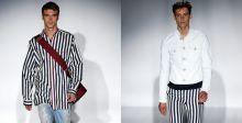 مجموعة Gucci الجديدة لصيف أحمر بالابيض والاسود