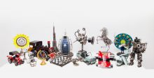"""""""الطاير"""" يُبرز فنّ إعادة التدوير لقطع السيّارات"""