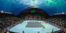 ملعب تنس تحت الماء قريباً في دبي