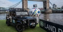 لاند روفر تصدر سيارة خاصة لحمل كأس العالم في الركبي