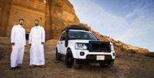 إعادة اكتشاف سكة الحجاز مع لاند روفر