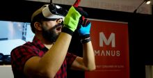 قفّازات فعليّة لعالم افتراضي من مانوس