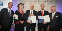 """من ربح جائزة """"البروفيسور فرديناند بورش"""" ل2015؟"""