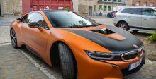 بي إم دبليو i8 باللون البرتقالي: قوة جذابة