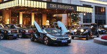 أوّل فندقٍ في العالم يقدّم BMW i8  : ال Peninsula Shanghai