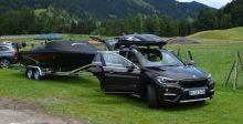 ال BMW X1  تقطر باخرة من طنّين
