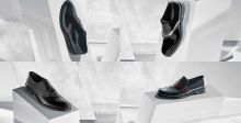 لويس فيتون :أحذية براقة