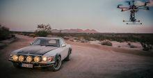 رحلة لمرسيدس 500 SL رالي في صحراء كاليفورنيا