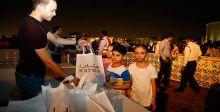 احتفالية العيد في  مسرح الظل في الدوحة