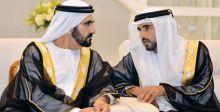 الشيخ حمدان بن محمد يكتب قصيدةً إلى أخيه الراحل