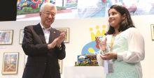"""""""منهال عدنان سامي تفوز ب-""""جائزة الالهام الهندسي"""