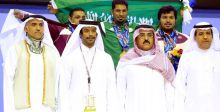 السعودية تتقدّم في أولمبياد الخليج