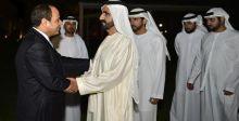 جولة في دبي لحاكمها والرئيس المصري