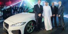 الطاير تكشف عن سيارة جاغوار في الإمارات