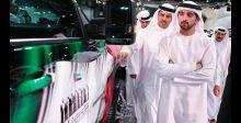 انطلاق عجلات معرض دبي الدولي للسيارات