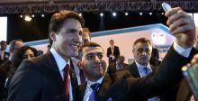 عشاق السلفي يطاردون رئيس حكومكة كندا