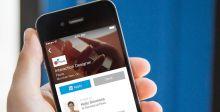 تطبيق LinkedIn الجديد يشبه فيسبوك