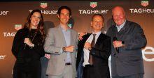 TAG Heuer تحتفل مع عائلة سينا