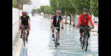 فعاليات اماراتية تروّج لركوب الدراجة