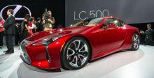 LC 500  تتوسّط مسرح Lexus  في ديترويت