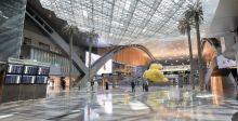 منحوتات في مطار حمد الدولي