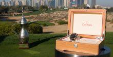 الفائز في بطولة أوميغا دبي كلاسيك ديزيرت سيفوز بالميدالية الذهبية مع أوميغا سيماستر أكوا تيرا