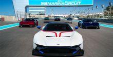 زبائن Aston Martin Vulcan  في أبو ظبي