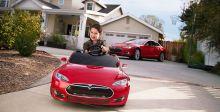 Tesla Model S  فقط للأطفال
