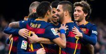 برشلونة المتصدّر الاسباني بلا منازع