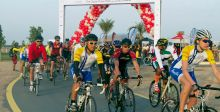 """""""نبض دبي"""" وركوب الدراجات"""