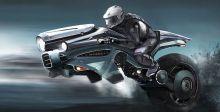 إليكم 3 درّاجات ناريّة مستقبليّة طائرة