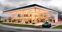 Aston Martin في نيوكاسل