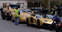 مليونير سعودي بسيّاراته الذهبيّة