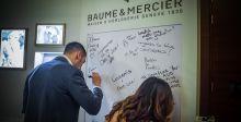 دار Baume & Mercier تحتفل مع طلاّب الجامعة الأميركية في دبي