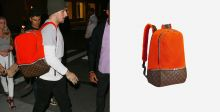 جوني مانزيل وحقيبة Louis Vuitton