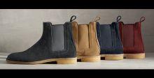 (  Bottega Veneta  ) والأحذية الصحراوية