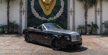 Rolls-Royce  بحلّة سوداء فريدة